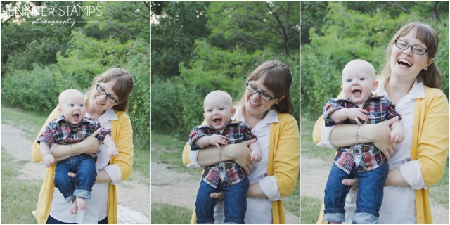 Family Photos at Shoal Creek Park