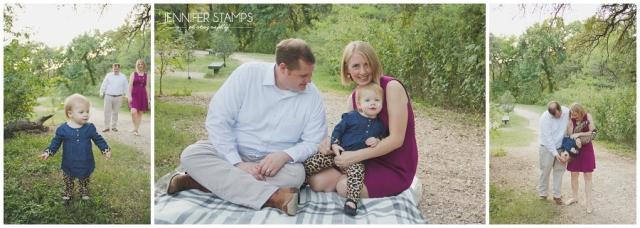 Relaxed Austin Family Photos